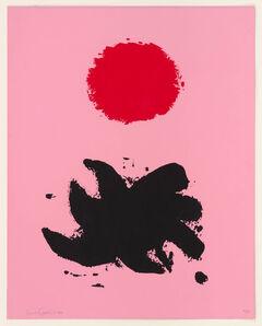 Adolph Gottlieb, 'Pink High', 1969