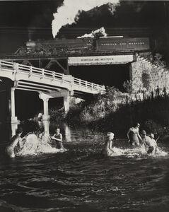 O. Winston Link, 'Hawksbill Creek Swimming Hole, Luray, Virginia', 1956