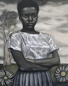 Jenny Scobel, 'Blue Shoes', 2005
