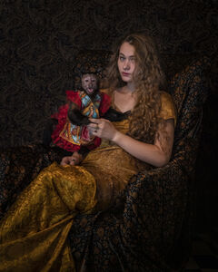 Robin Schwartz, 'Guadalupe Gold, Emily and Amelia Series, 2018', 2018