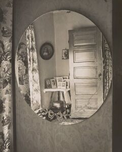 Wright Morris, 'Reflection in Oval Mirror, The Home Place', 1947