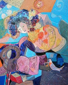 Brigitte Szpiro, 'La femme et l'oiseau', 2018