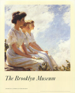 Charles Courtney Curran, 'On The Heights', 1986