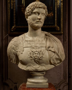 Anonymous, 'Bust of the Emperor Hadrian (76-138 A.D.)', Early 17th Century