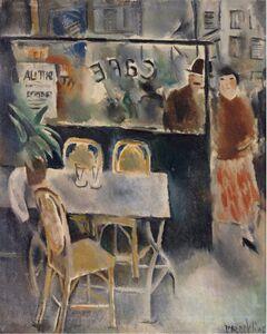 Vera Rockline, 'Couple au café', NA