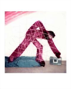 Maripol, 'BOOMBOX SCRATCH SX 70'S', 1977