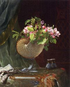 Martin Johnson Heade, 'Victorian Still Life with Apple Blossoms', circa 1870-1875