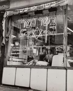 Rebecca Lepkoff, 'Strictly Kosher, Lower East Side, New York City'
