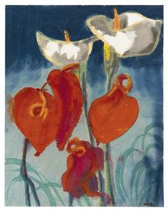 Emil Nolde, 'Callas und Anthurien'
