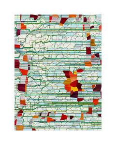 Lisa Corinne Davis, 'Flitting Foundation', 2020