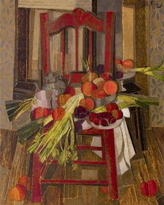 Alfredo Roldan, 'La silla roja', 2020