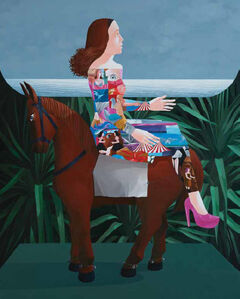 Knakorn Kachacheewa, 'Woman on Horseback', 2014