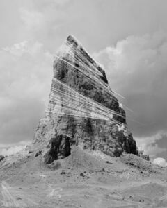 Trevor Paglen, 'Agathla Peak Hough Transform; Haar', 2017