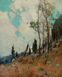 Chauncey Ryder, 'On the Mountain Side '