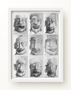 R E Sabean, 'Asymmetries 2', 2017