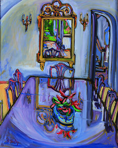 Jeffrey Hessing, 'Dining Room Mirror'