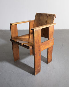 Gerrit Thomas Rietveld, 'Crate Chair', ca. 1935