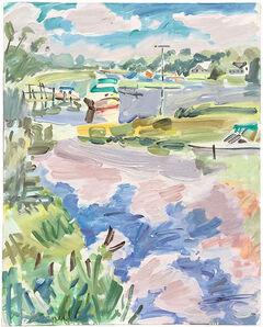 Margery Gosnell-Qua, 'Beaver Dam Creek', 21st Century