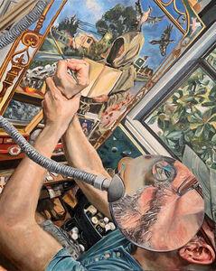 Laura Spector, 'Portrait Of An Artist In His Studio', 2020