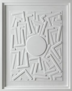 Stephen Antonakos, 'Untitled Wood Relief (E-1)', October 15-1987