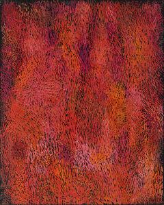 Margo Hoff, 'October Hill / Red', ca. 1978