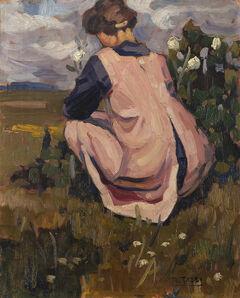 Mario Tozzi, 'Figura nel paesaggio', 1919