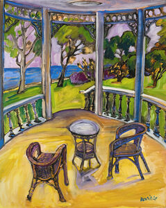 Jeffrey Hessing, 'Terrasse on the Lake'