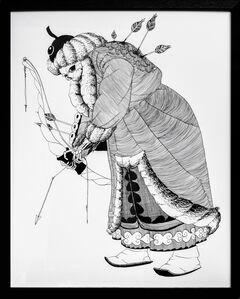 Kate Glasheen, 'Dead King 24 [10th Century Mongol Khagan]', 2020