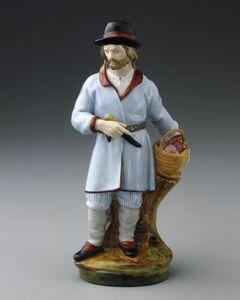 Imperial Porcelain Factory, 'Finnish Peasant Man', ca. 1780