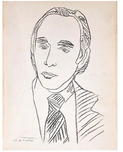 "Andy Warhol, '""Twenty Years"", 1977, SIGNED/Inscribed by Leo, Exhibition Catalogue, Leo Castelli Gallery, 1st Edition', 1977"