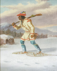 Cornelius David Krieghoff, 'Indian Trapper', 1854