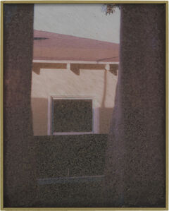 Sam Falls, 'Untitled (639 Santa Clara Avenue, 90291, Neighbors, Window/Wall)', 2013