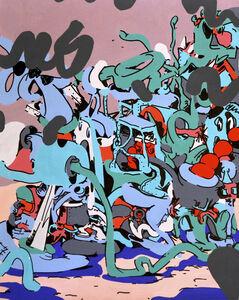Antwan Horfee, 'Just A Train', 2014