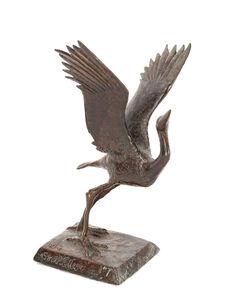 Elliot Offner, 'Great Blue Heron (miniature)', 1987