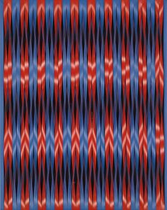 Walter Leblanc, 'Twisting Stripes  (Torsion Mobilo-Static)', 1964