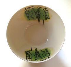 "Porcelana di Albisola - 9"" salad bowl"