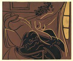 Pablo Picasso, 'Femme Regardant par la Fenêtre', 1962