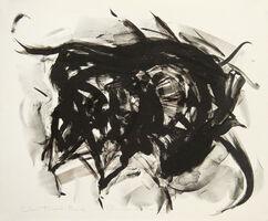 Elaine de Kooning, 'Taurus II (color trial proof #2)', 1973
