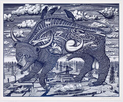 Grayson Perry, 'Animal Spirit (Blue)', 2016