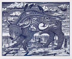 Grayson Perry, 'Animal Spirit Blue', 2016