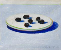 Wayne Thiebaud, 'Untitled (Olives)', 1963