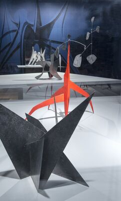 Alexander Calder: Radical Inventor, installation view