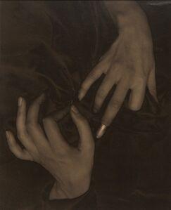 Alfred Stieglitz, 'Georgia O'Keeffe--Hands and Thimble', 1919