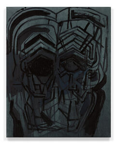 Thomas Houseago, 'Black and Blue Series VI', 2017