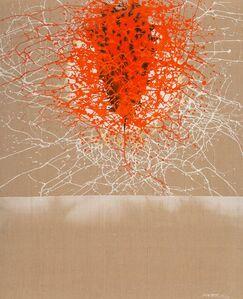 Patrick Scott, 'Moon Device Red', 1963