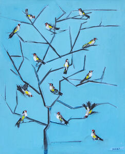 Jamil Molaeb, 'Birds on Branches', 2020