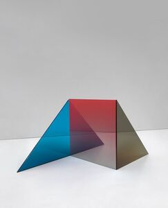 Larry Bell, 'Untitled Triolith C SS', 2020