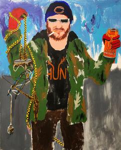 Huey Crowley, 'Billy magnet fishing', 2020
