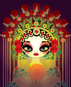 Mari Kim, 'Farewell My Concubine 1', 2015