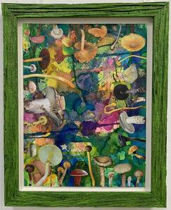 Douglas Melini, 'Untitled (SHRooMS) Green Frame', 2019
